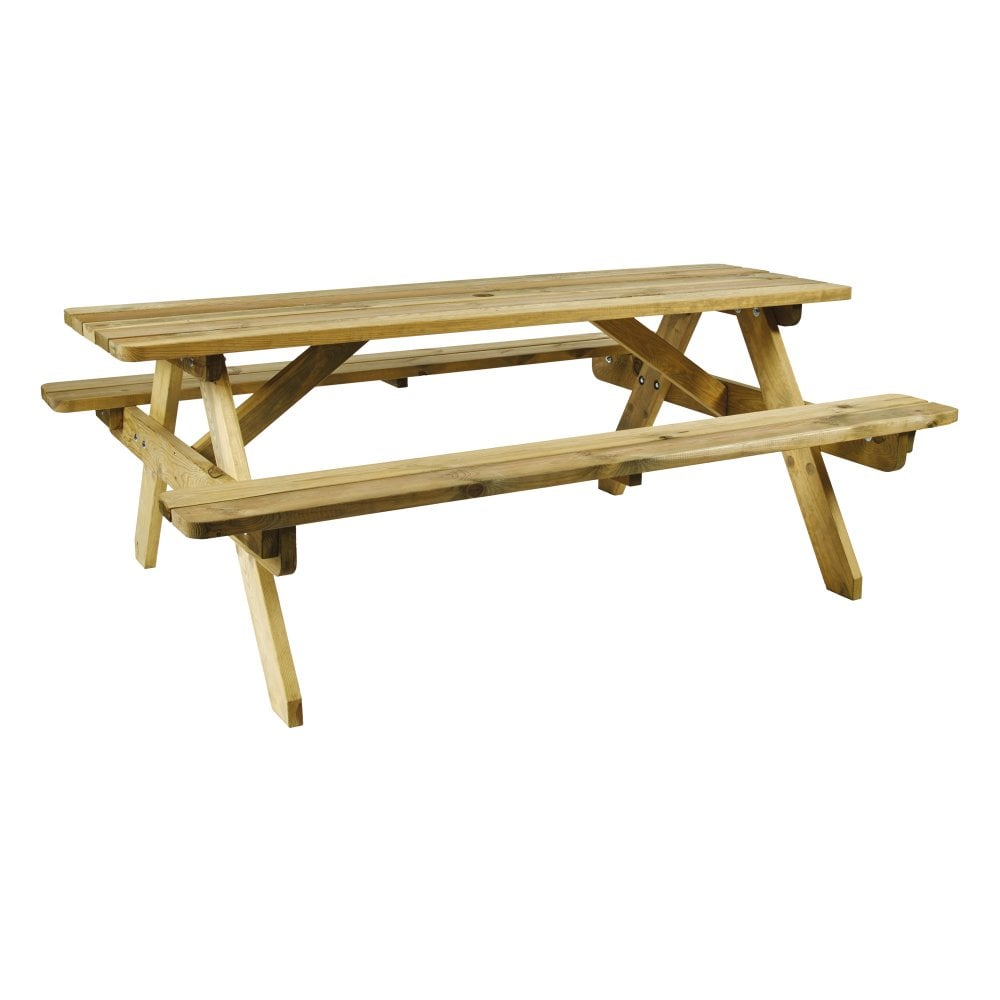 Beacon Picnic Bench 6 Seater Outdoor Tables From