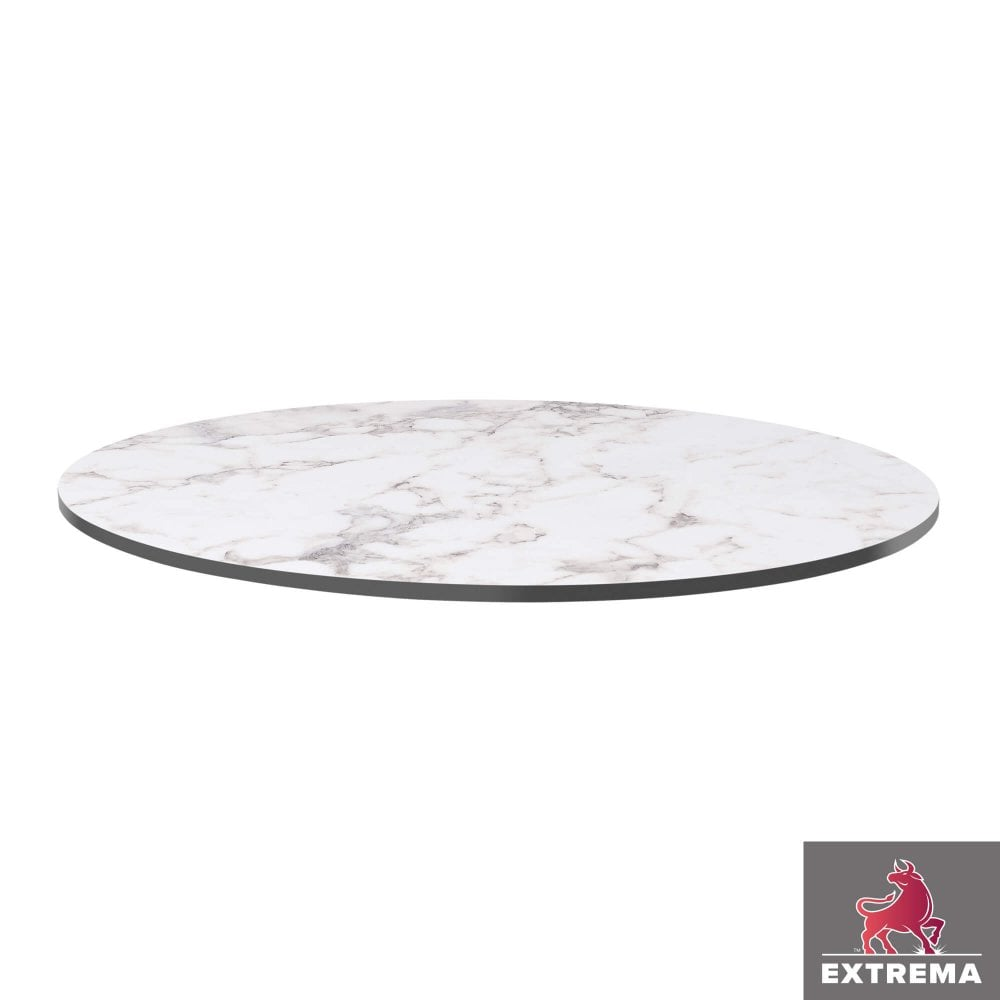 Extrema Table Top White Carrara Marble Indoor Tables From Eclipse Furniture Uk