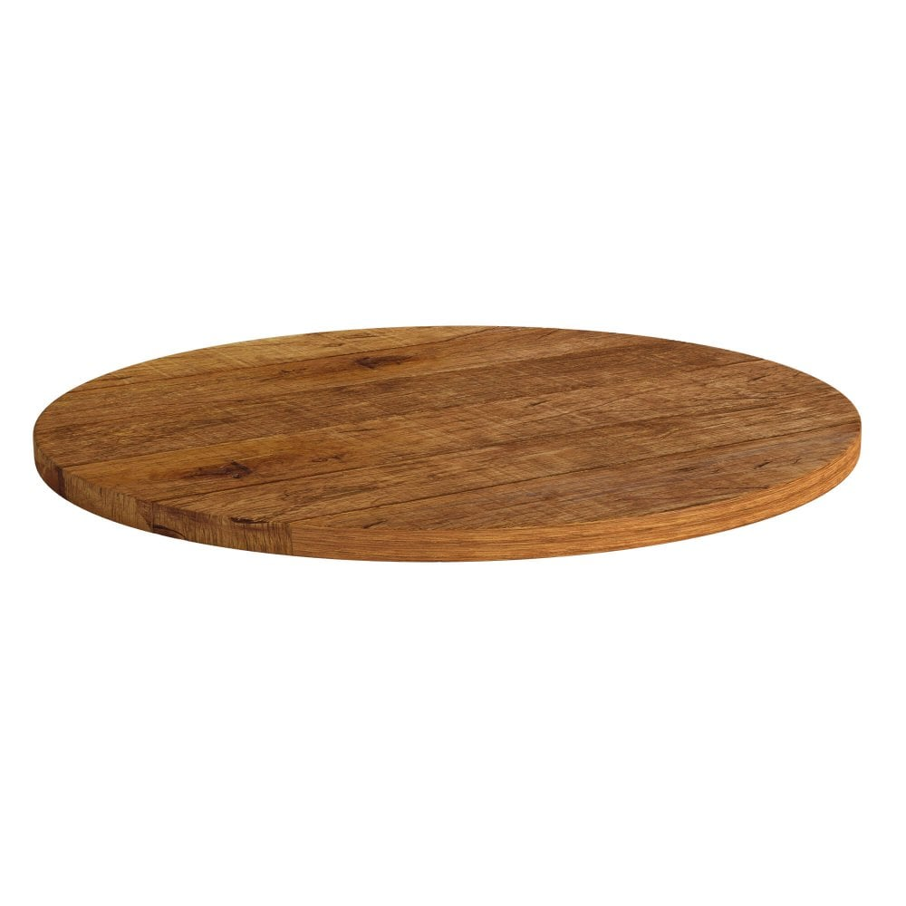 Round table top transparent 23mm