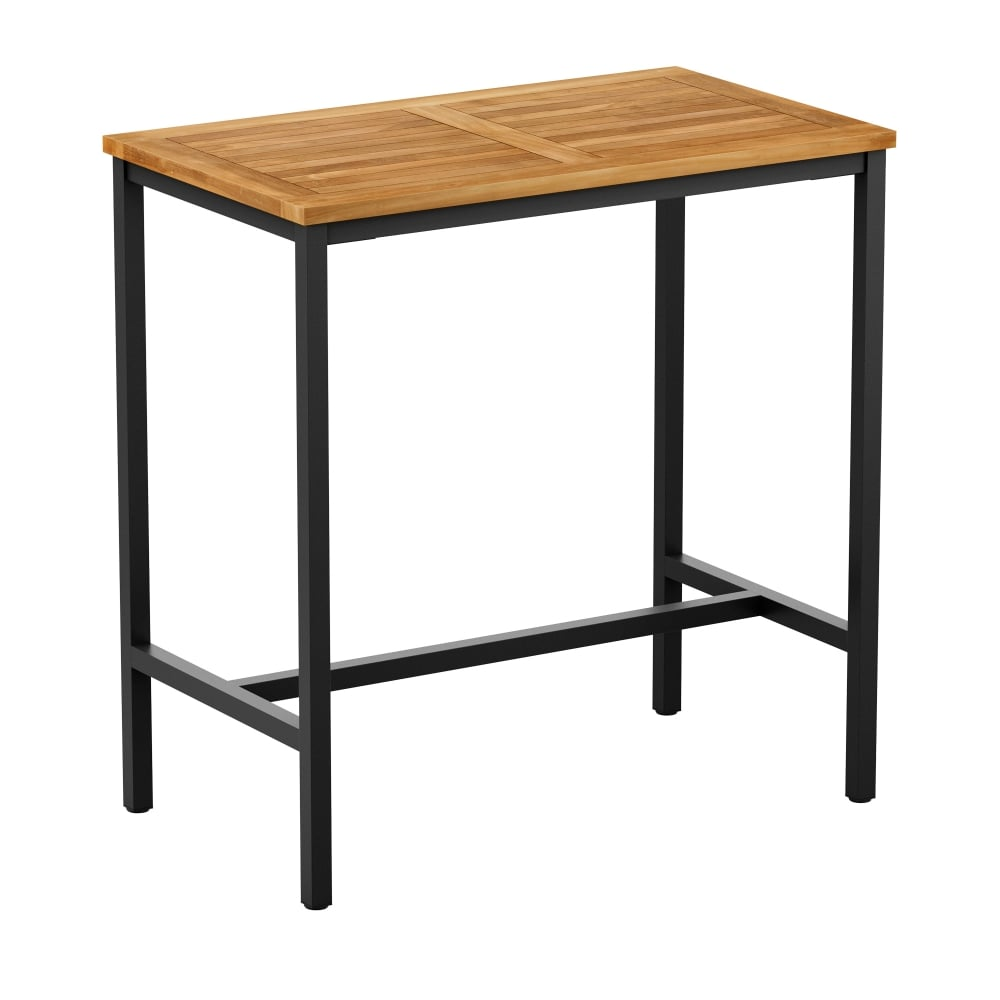 Teak Rectangular Poseur Table Outdoor Tables From Eclipse Furniture Uk