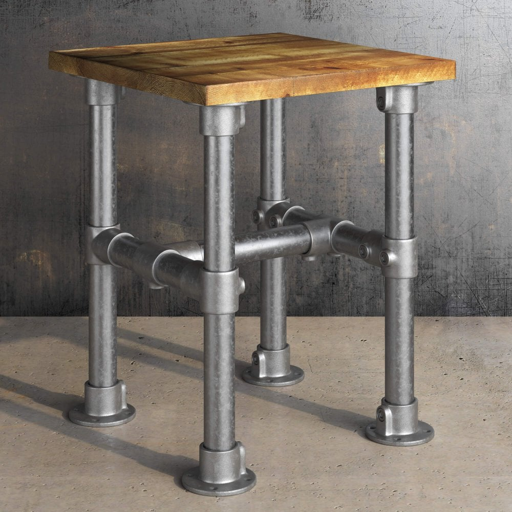 Vintage Scaffold Low Stool Indoor Tables From Eclipse