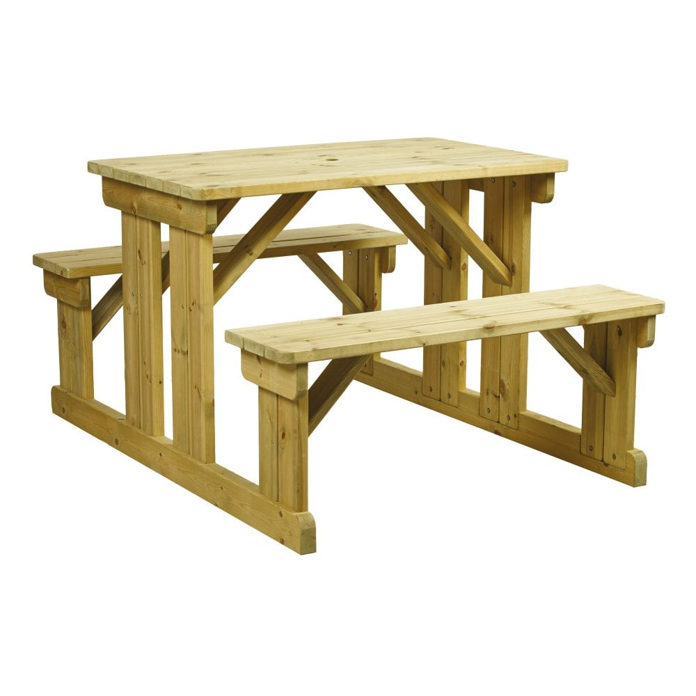 Walkin Picnic Bench Seater Outdoor Tables From Eclipse - Walk in picnic table
